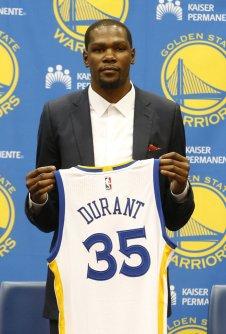 Warriors Durant Basketball