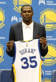 Warriors Durant Basketball
